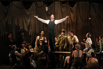 Michael Todd Simpson as Escamillo in The Glimmerglass Festival's 2011 production of Carmen. Photo: Julieta Cervantes.