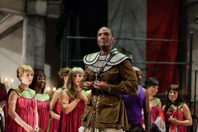 Noah Stewart as Radamès in The Glimmerglass Festival's production of Aida. Photo: Karli Cadel/The Glimemrglass Festival.