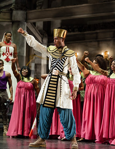 Phillip Gay as the King in The Glimmerglass Festival's production of Aida. Photo: Karli Cadel/The Glimmerglass Festival.
