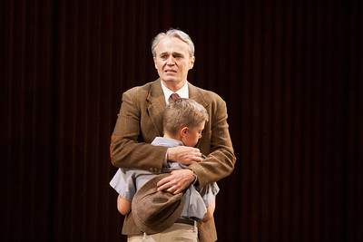 Wynn Harmon as James Jarvis with Jonah Groom as Edward Jarvis in The Glimmerglass Festival's production of Kurt Weill and Maxwell Anderson's Lost in the Stars. Photo: William M. Brown/The Glimmerglass Festival.