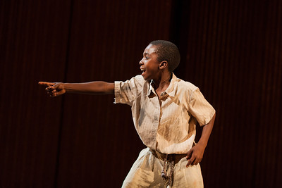 Caleb McLaughlin as Alex in The Glimmerglass Festival's production of Kurt Weill and Maxwell Anderson's Lost in the Stars. Photo: Karli Cadel/The Glimmerglass Festival.