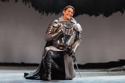 Nathan Gunn as Lancelot in The Glimmerglass Festival's 2013 production of Camelot. Photo: Karli Cadel/The Glimmerglass Festival.