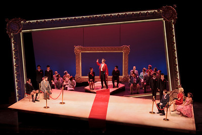 The Glimmerglass Festival production of  Verdi's King for a Day.  Photo: Jamie Kraus/The Glimmerglass Festival.