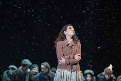 Victoria Munro in The Glimmerglass Festival's 2013 production of David Lang's the little match girl passion. Photo: Karli Cadel/The Glimmerglass Festival.