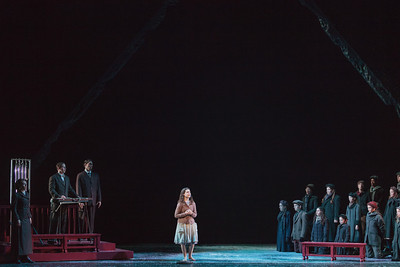 The Glimmerglass Festival's 2013 production of David Lang's the little match girl passion. Photo: Karli Cadel/The Glimmerglass Festival.