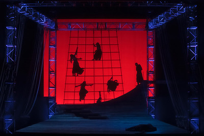 The Glimmerglass Festival 2013 production of Wagner's The Flying Dutchman. Photo: Jamie Kraus/ The Glimmerglass Festival.