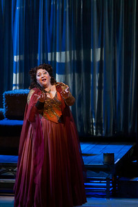 "Christine Goerke as Ariadne in The Glimmerglass Festival's 2014 production of Strauss' ""Ariadne in Naxos."" Photo: Jessica Kray/The Glimmerglass Festival."