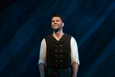 """Ryan McKinny as Billy Bigelow in The Glimmerglass Festival's 2014 production of Rodgers and Hammerstein's """"Carousel."""" Photo: Jessica Kray/The Glimmerglass Festival."""