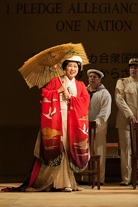 "Yunah Lee as Cio-Cio-San in The Glimmerglass Festival's 2014 production of ""Madame Butterfly."" Photo: Karli Cadel/The Glimmerglass Festival."