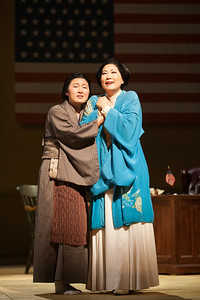 "Kristen Choi as Suzuki and Yunah Lee as Cio-CIo-San in The Glimmerglass Festival's 2014 production of ""Madame Butterfly."" Photo: Karli Cadel/The Glimmerglass Festival."